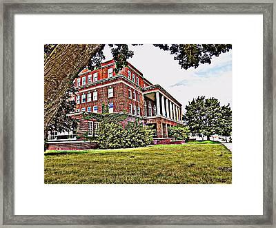 Kenosha Elks Club Framed Print by Kay Novy