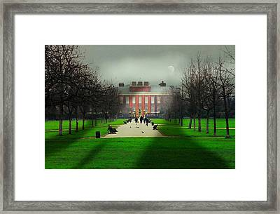 Kensington Palace London Framed Print by Diana Angstadt