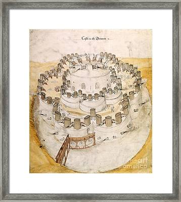Kent Artillery Fort, 16th Century Framed Print