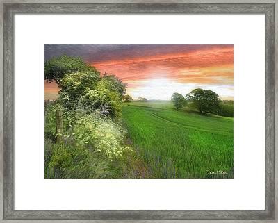 Kent Between Storms Framed Print by Fran J Scott
