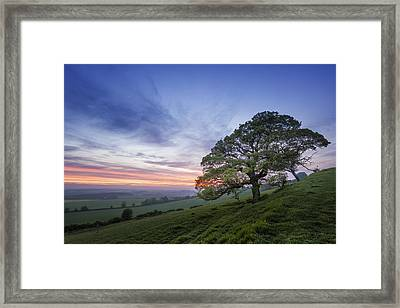 Kent Countryside Framed Print by Ian Hufton