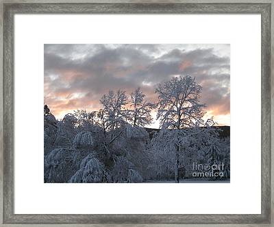 Framed Print featuring the photograph Kent Ct Oct 2011 by HEVi FineArt