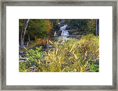 Kent Falls Framed Print by Bill Wakeley