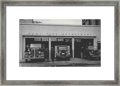 Kent Fire Department 1979 Framed Print by Retro Images Archive