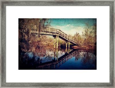 Kenta Canal Framed Print