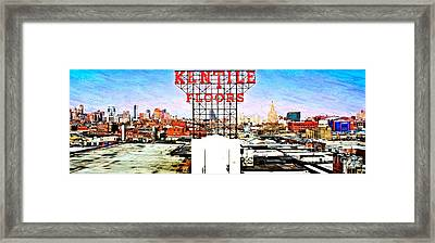 Kentile Floors Framed Print