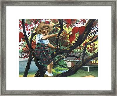 Kentucky Belle Framed Print by Heidi E  Nelson