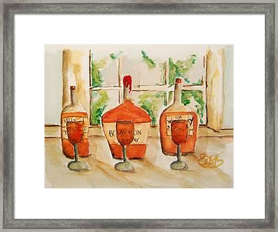 Kentucky Bourbon Sampler Framed Print