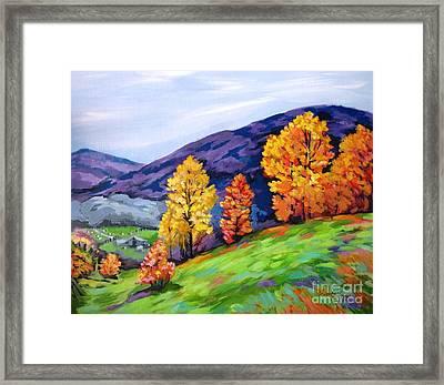 Kentucky Hillside Framed Print