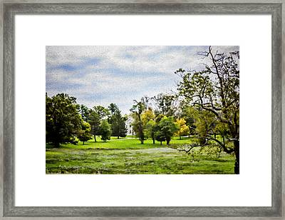Plantation - Landscape - Kentucky Home Framed Print