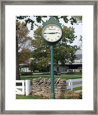 Kentucky Horse Park Framed Print by Roger Potts