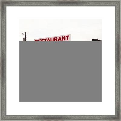 Kentucky Restaurant Framed Print by Chris Fender