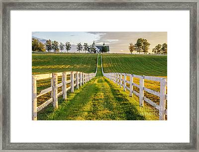 Kentucky Scenery Framed Print