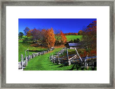 Kentucky Settlement Framed Print by Paul W Faust -  Impressions of Light