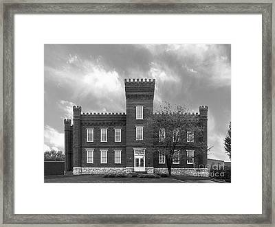 Kentucky State University Jackson Hall Framed Print by University Icons