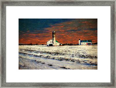 Kentucky Sunrise Framed Print by Darren Fisher