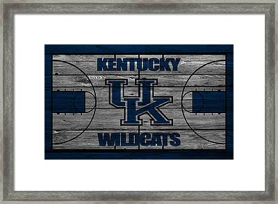Kentucky Wildcats Framed Print by Joe Hamilton