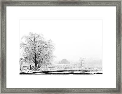 Kentucky Winter  Framed Print by Wendell Thompson
