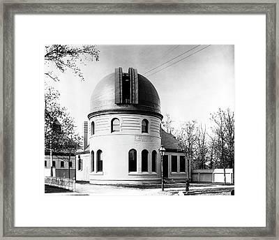 Kenwood Observatory Framed Print