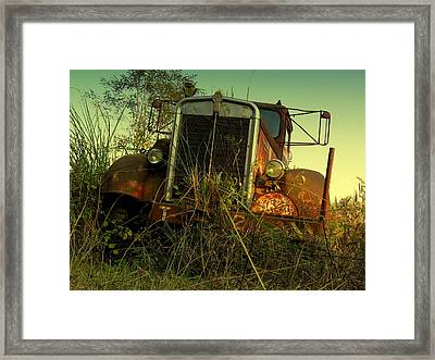 Kenworth 2 Framed Print