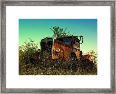 Kenworth 3 Framed Print