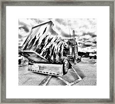 Kenworth Rig Framed Print