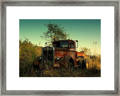 Kenwoth Framed Print