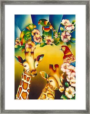 Kenya Kingdom Framed Print