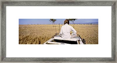 Kenya, Maasai Mara, Safari Framed Print by Panoramic Images
