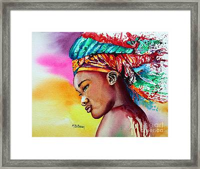 Kenya Framed Print by Maria Barry