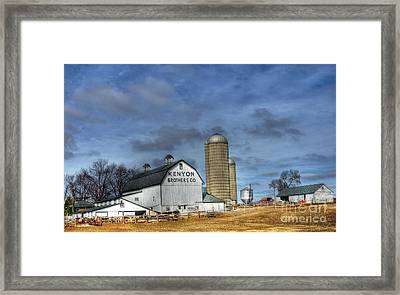 Kenyon Brothers Dairy Framed Print by David Bearden