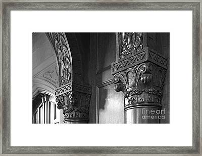 Kenyon College Great Hall  Framed Print by University Icons