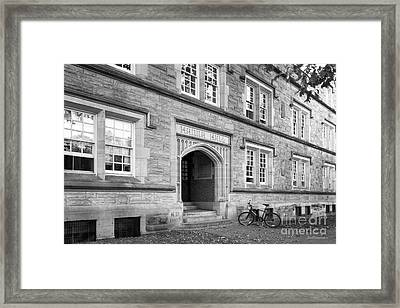Kenyon College Hanna Hall Framed Print by University Icons