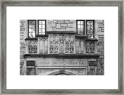Kenyon College Samuel Mather Hall Framed Print by University Icons