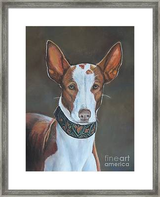 Kenzie Framed Print by Charlotte Yealey