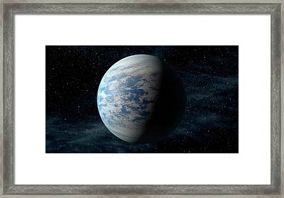 Kepler-69c Framed Print by Nasa/ames/jpl-caltech