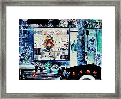 Keren Kayemet Flowers Framed Print by Nekoda  Singer