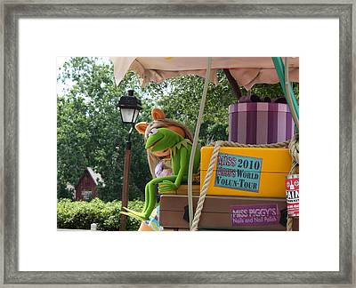 Framed Print featuring the photograph Kermey by David Nicholls