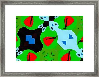 Kermit The Frog Pop Art Framed Print