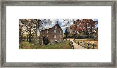 Kerr Mill Panorama Framed Print