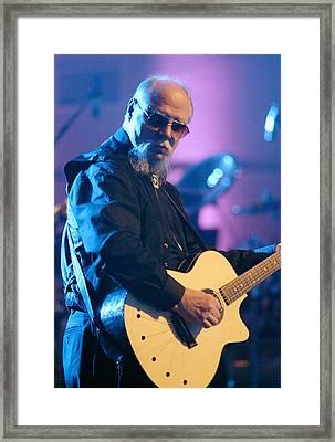 Kerry Livgren Kansas Framed Print by Don Olea
