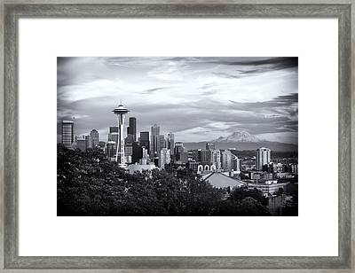 Kerry Park Framed Print by Tanya Harrison