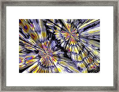 Ketamine Crystals Framed Print