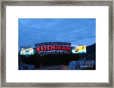 Ketchikan Framed Print by Robert Bales