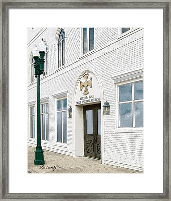 Ketchum Hall Framed Print