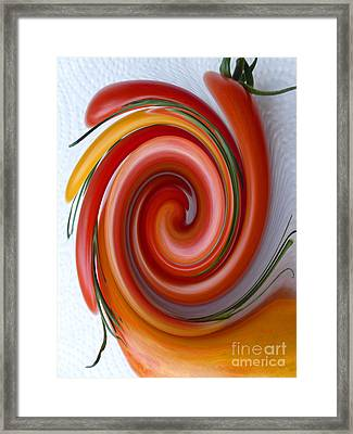 Ketchup To Be Framed Print