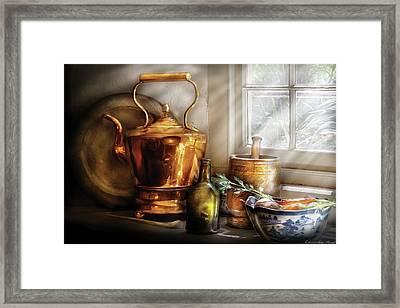 Kettle - Cherished Memories Framed Print