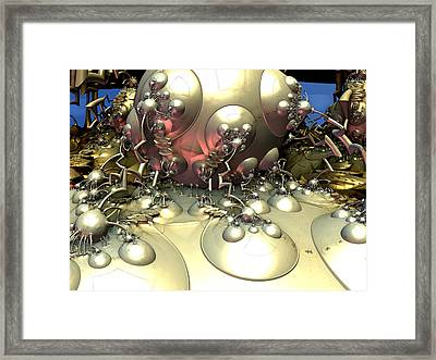 Kettle Of Enormity Framed Print