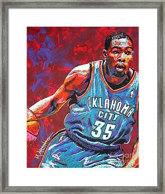 Kevin Durant 2 Framed Print