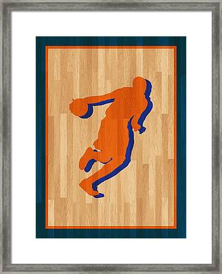 Kevin Durant Oklahoma City Thunder Framed Print